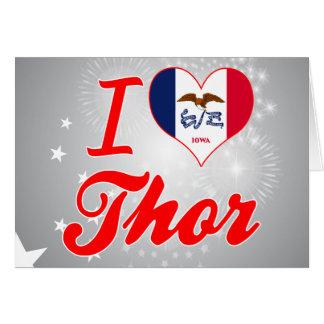 Amo el Thor, Iowa Tarjeton