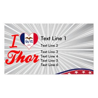 Amo el Thor, Iowa Tarjetas De Visita