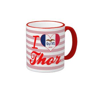 Amo el Thor, Iowa Taza De Café