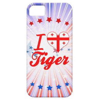 Amo el tigre, Georgia iPhone 5 Carcasas