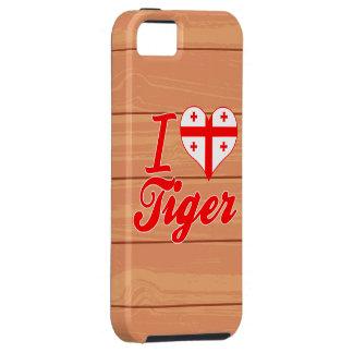 Amo el tigre, Georgia iPhone 5 Case-Mate Fundas