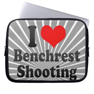 Amo el tiroteo de Benchrest Manga Computadora