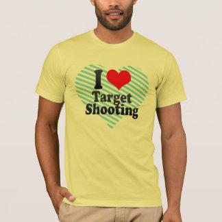 Amo el tiroteo de la blanco playera