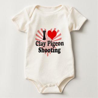 Amo el tiroteo del tiro de pichón mamelucos