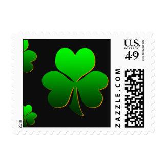 Amo el tocino irlandés timbres postales