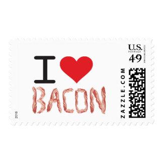 Amo el tocino sello postal