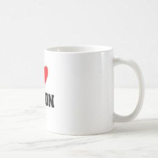 Amo el tocino tazas de café