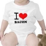 Amo el tocino traje de bebé