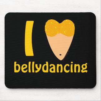 Amo el torso del bailarín de Bellydancing (el cora Tapete De Ratones