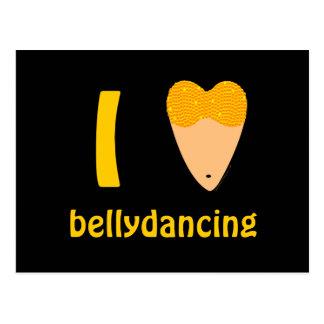 Amo el torso del bailarín de Bellydancing (el Postal