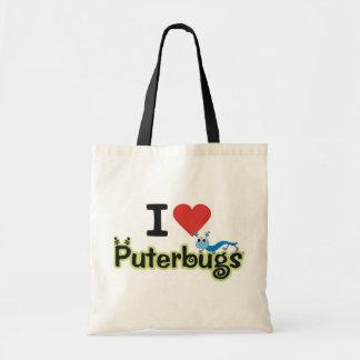 ¡AMO el tote de Puterbugs! Bolsa Tela Barata