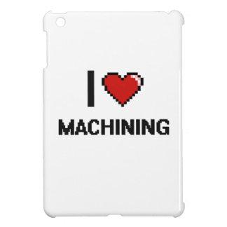 Amo el trabajar a máquina del diseño retro de