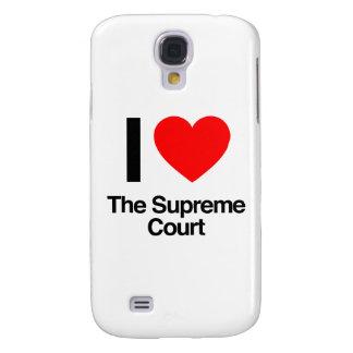 amo el Tribunal Supremo Funda Para Galaxy S4