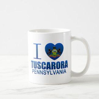 Amo el Tuscarora, PA Taza De Café