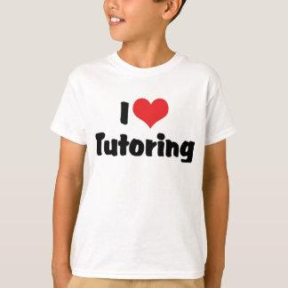 Amo el Tutoring Playera