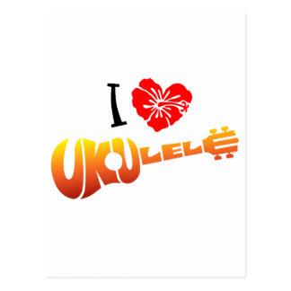 Amo el Ukulele Postal