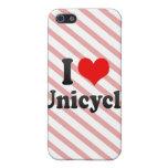 Amo el Unicycle iPhone 5 Protector