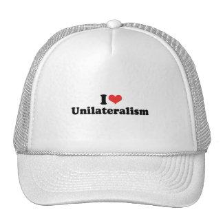 AMO EL UNILATERALISMO - .PNG GORRA