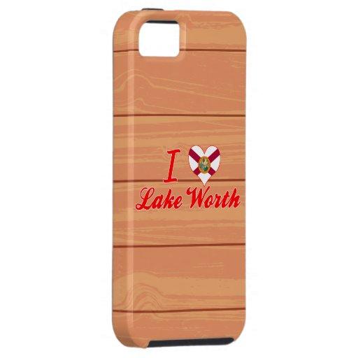 Amo el valor del lago, la Florida iPhone 5 Case-Mate Funda