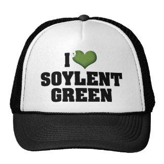 Amo el verde de Soylent Gorras De Camionero