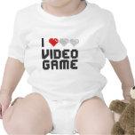 Amo el videojuego trajes de bebé