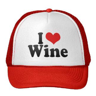 Amo el vino gorro