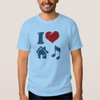 Amo el vintage de la música de la casa playera