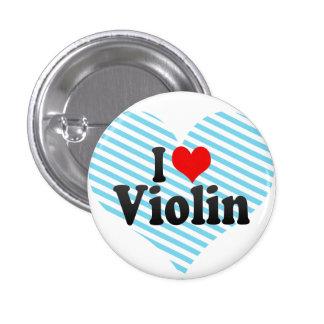 Amo el violín pin