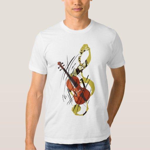 Amo el violín playera
