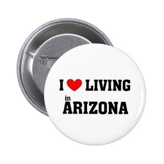 Amo el vivir en Arizona Pins