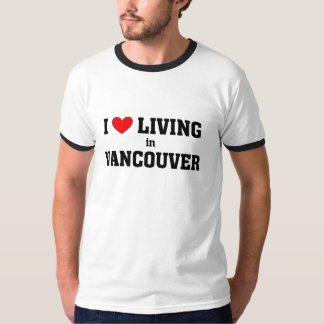Amo el vivir en Vancouver Remera