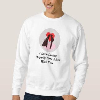 Amo el vivir feliz siempre después con usted suéter
