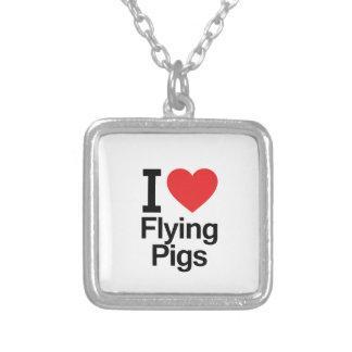 Amo el volar de cerdos joyerias