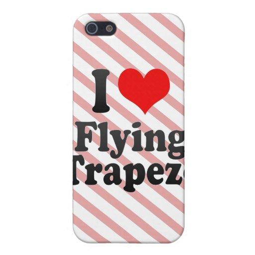 Amo el volar del trapecio iPhone 5 cárcasas