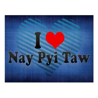 Amo el voto en contra Pyi Taw, Myanmar Postales