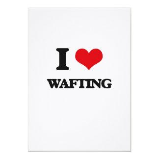 Amo el Wafting Invitación 12,7 X 17,8 Cm