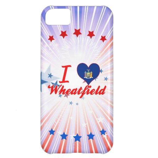 Amo el Wheatfield, Nueva York Funda Para iPhone 5C