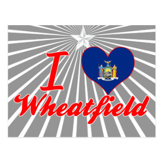 Amo el Wheatfield, Nueva York Postal