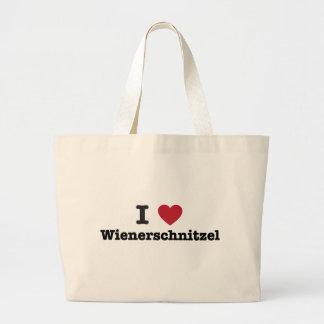 Amo el wienerschnitzel bolsa