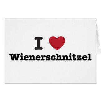 Amo el wienerschnitzel felicitacion