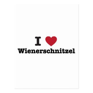 Amo el wienerschnitzel postal