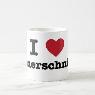 Amo el wienerschnitzel taza