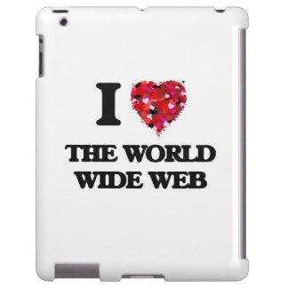 Amo el World Wide Web Funda Para iPad