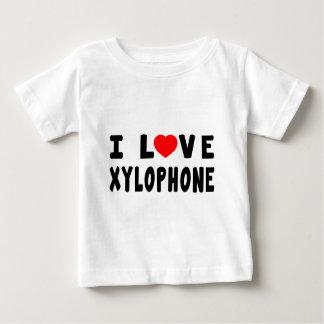 Amo el xilófono t shirts