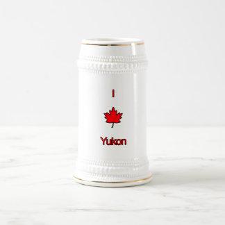 Amo el Yukón Jarra De Cerveza