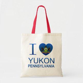 Amo el Yukón, PA Bolsas De Mano