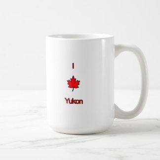 Amo el Yukón Taza De Café