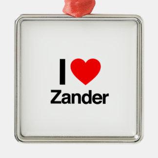 amo el zander ornamento para reyes magos