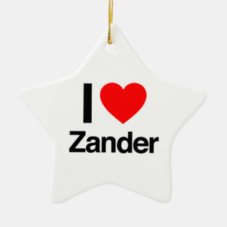 amo el zander ornamento de reyes magos