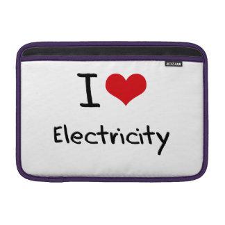 Amo electricidad funda para macbook air
